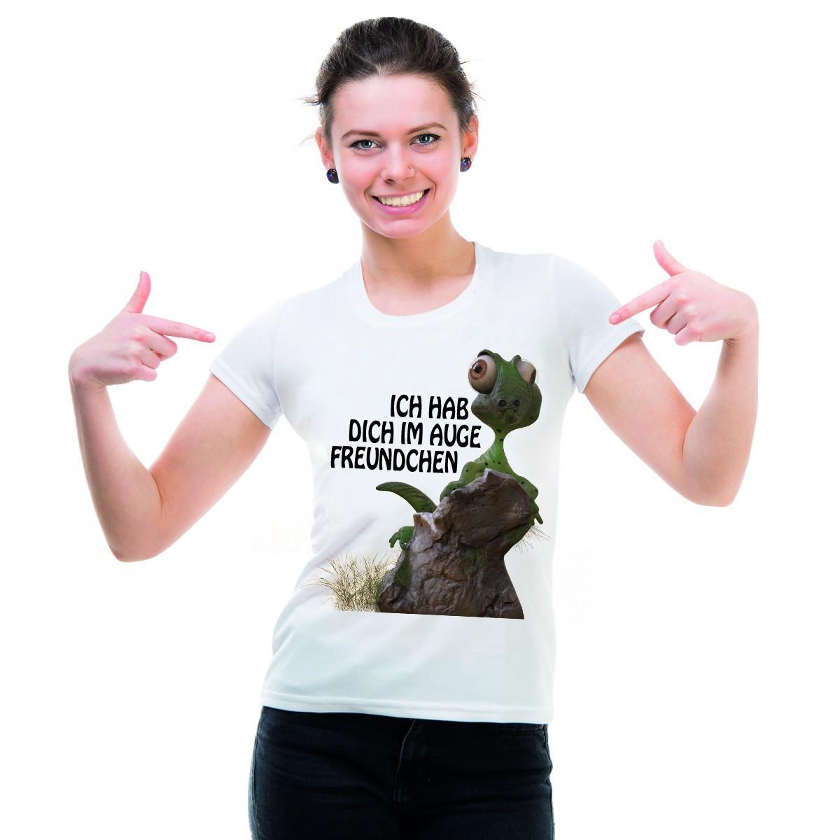Funshirt oder Tanktop: Ich hab Dich im Auge Freundchen
