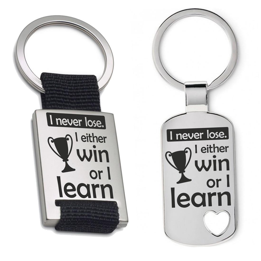 Schlüsselanhänger: I never lose