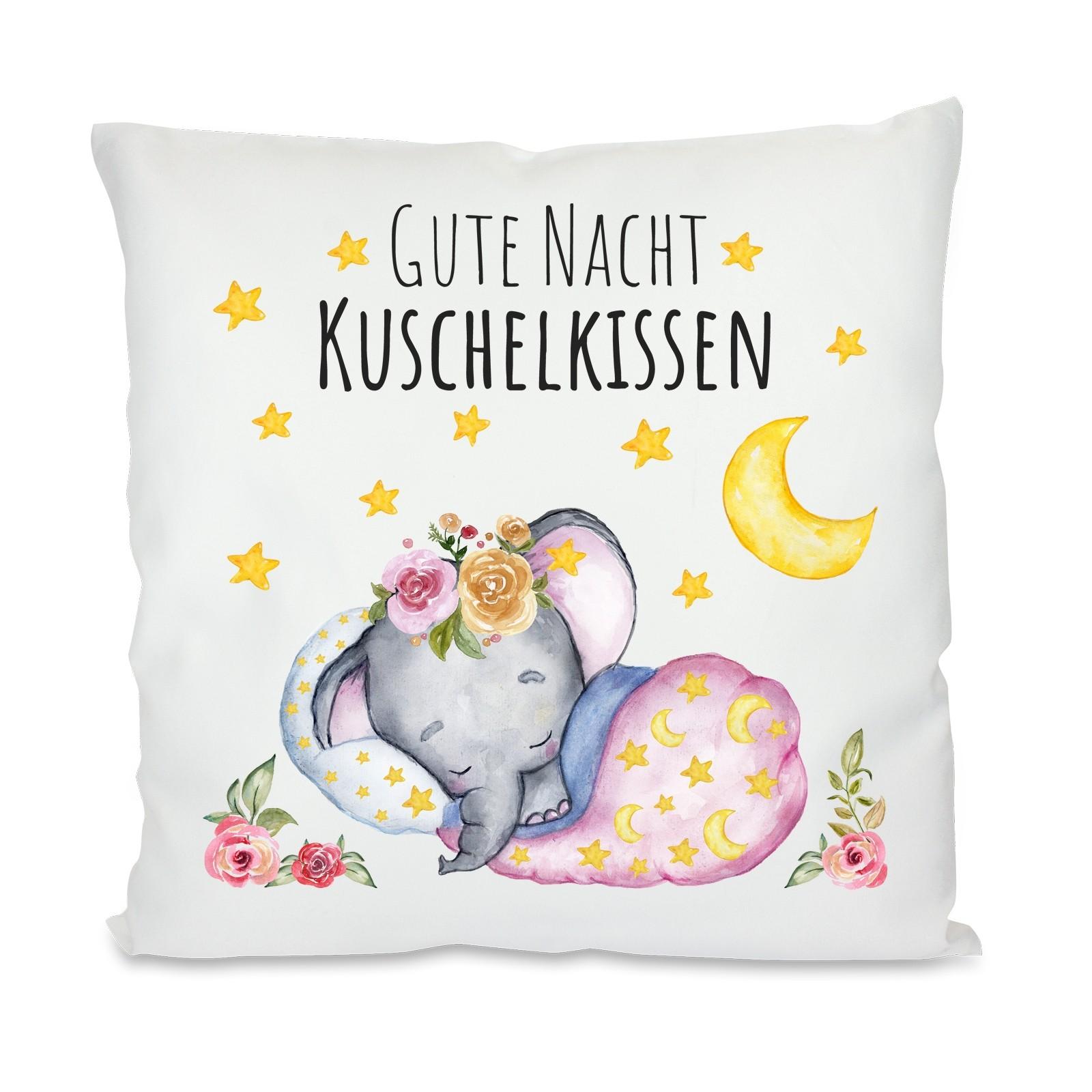 Kissen: Gute Nacht Kuschelkissen
