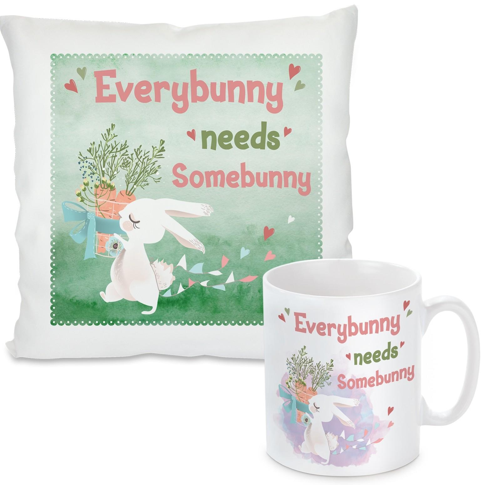 Kissen oder Tasse: Everybunny needs Somebunny