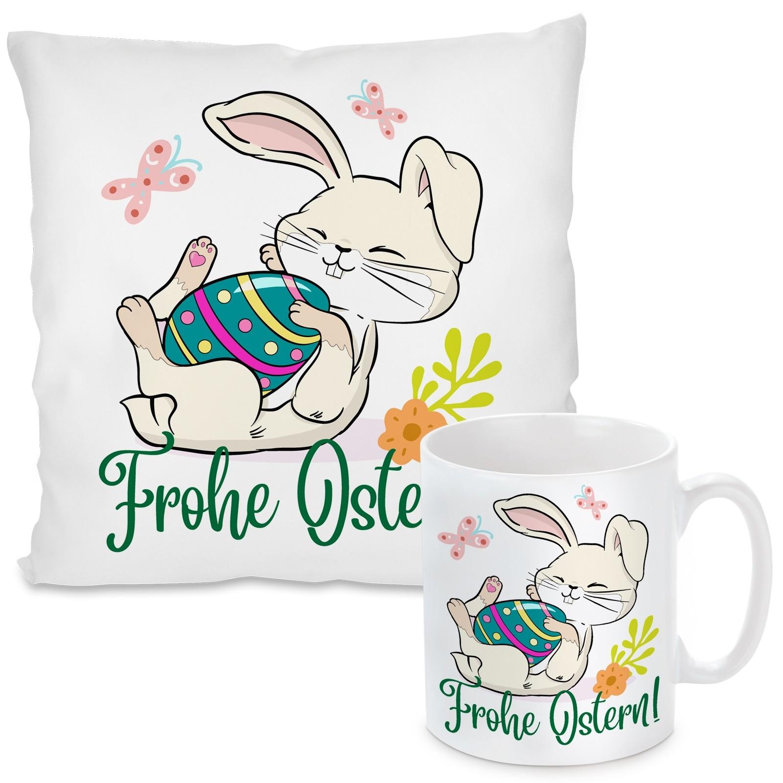 Kissen oder Tasse: Frohe Ostern!