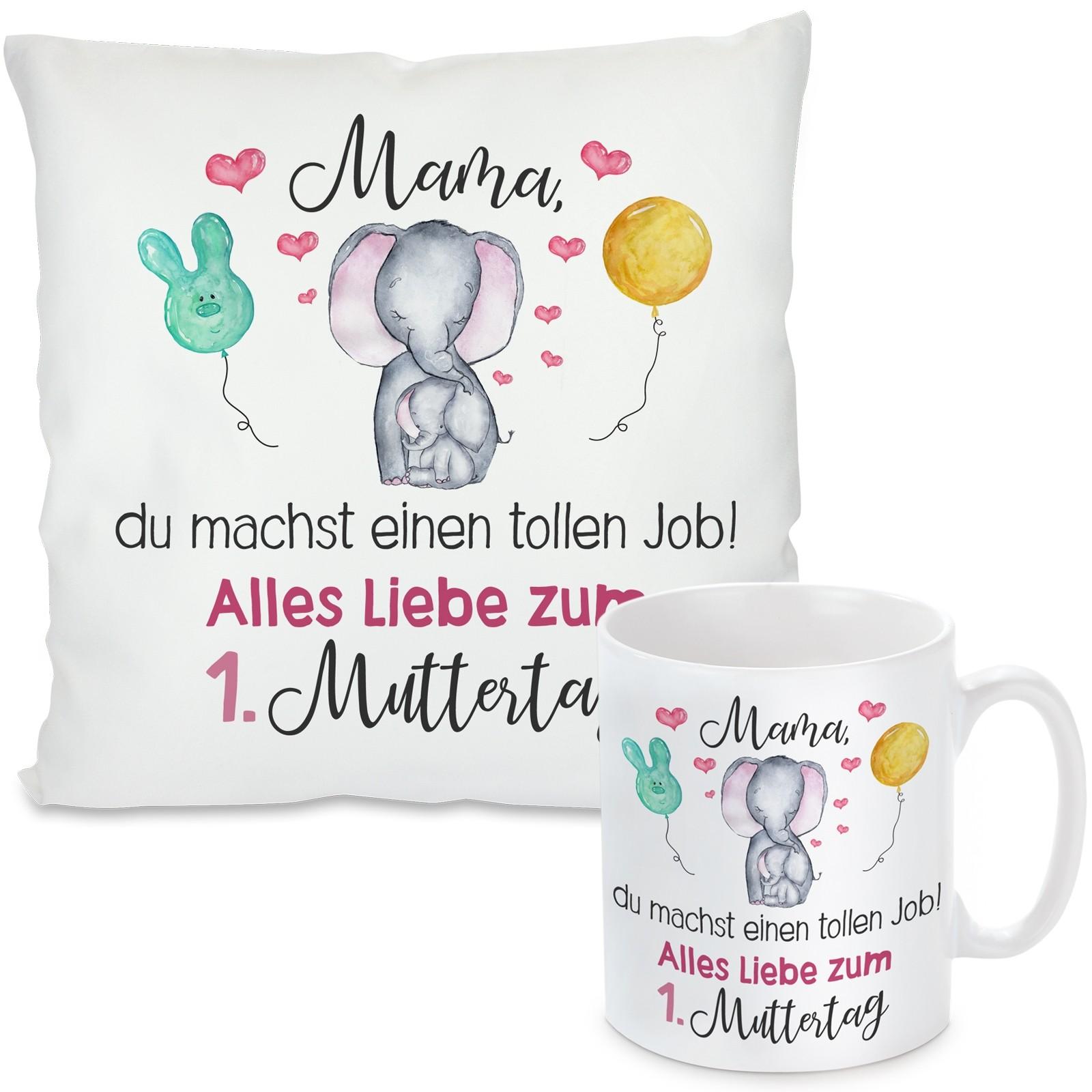 Kissen oder Tasse: Mama, du machst einen tollen Job