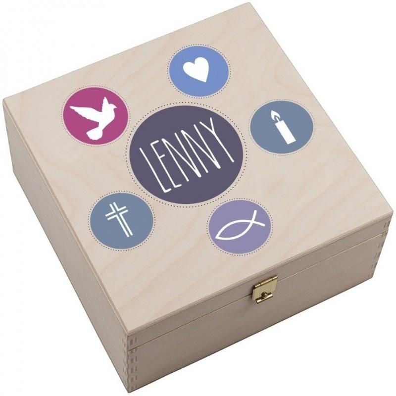 Personalisierte Hufeisen-Box \