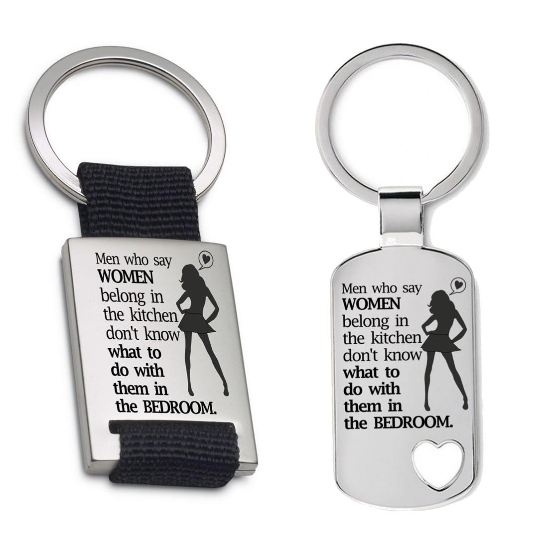 Schlüsselanhänger: Men who say...