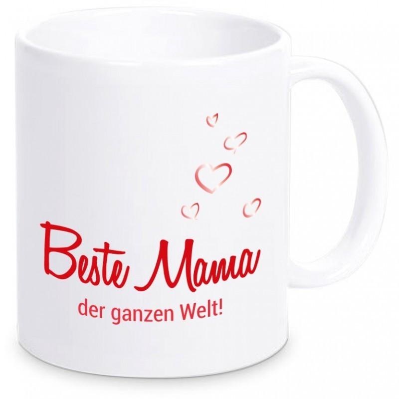 """Tasse """"Beste Mama der ganzen Welt!"""""""