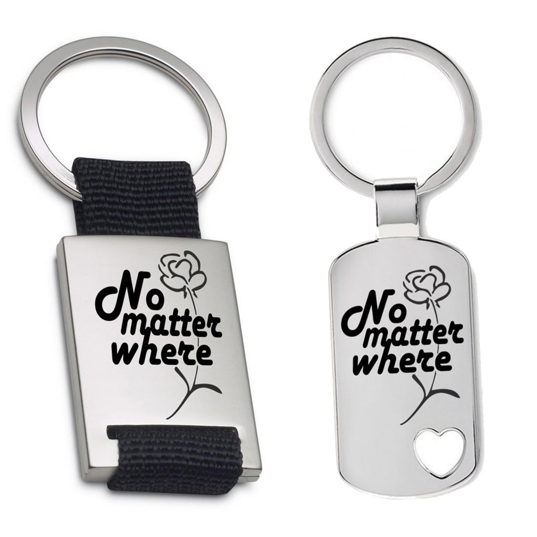 Schlüsselanhänger: No matter where
