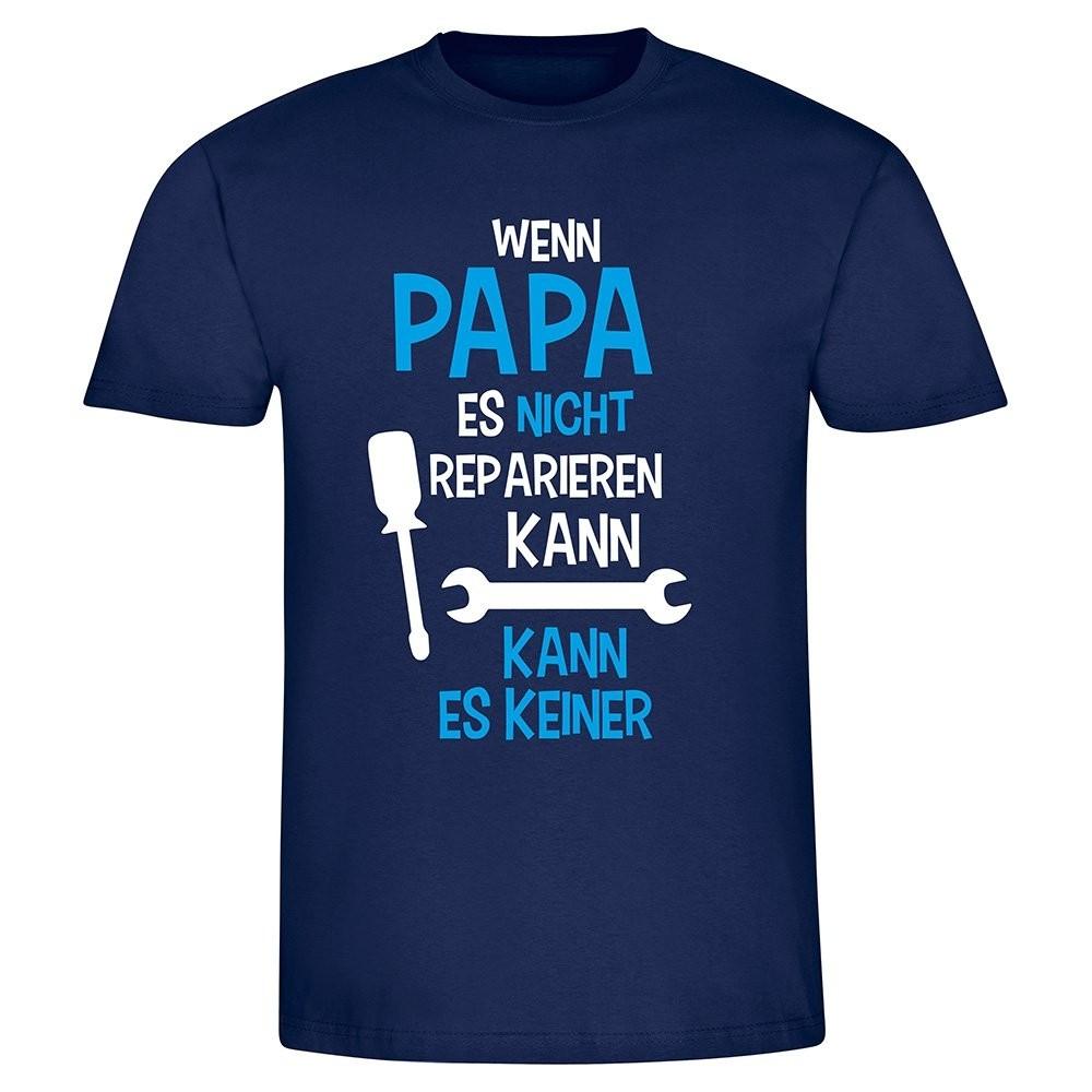 Funshirt Wenn Opa/Papa es nicht reparieren kann...