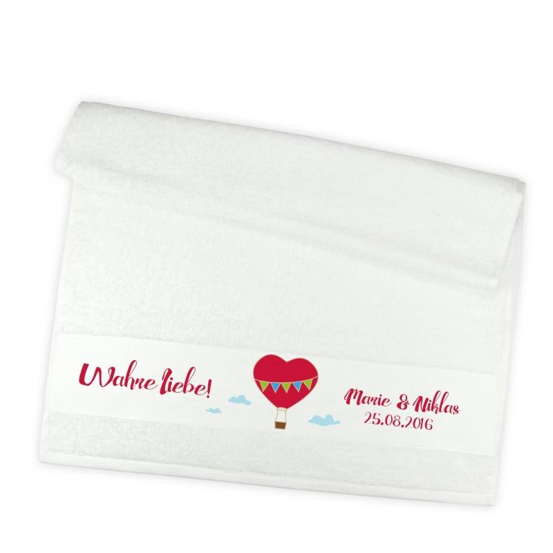 Handtuch für Verliebte