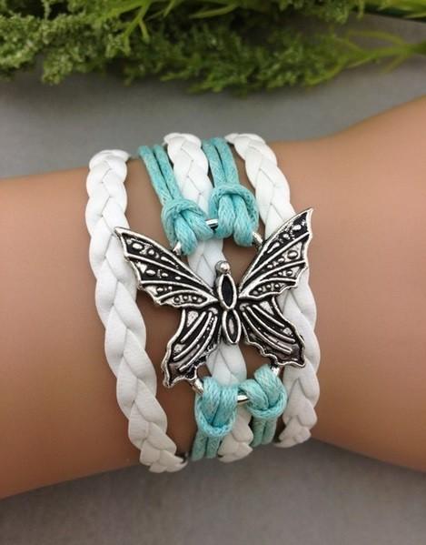 Armband mit Schmetterling