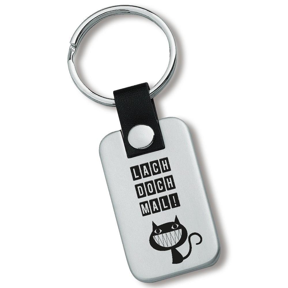 Lieblingsmensch Schlüsselanhänger Modell: Lach doch mal