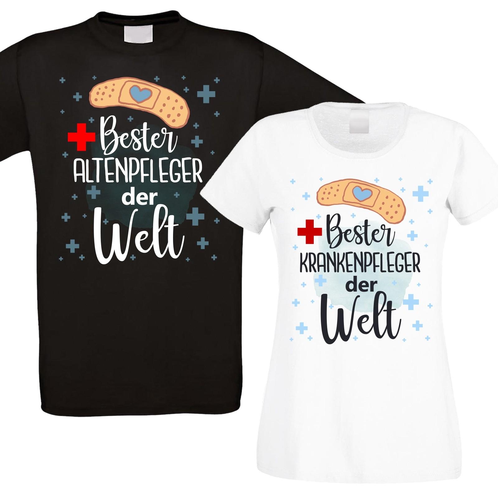Funshirt oder Tanktop: Bester Krankenpfleger / Altenpfleger der Welt.