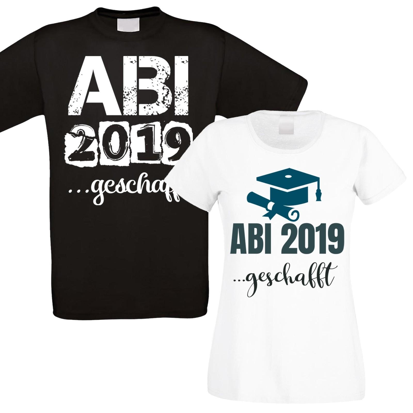 Funshirt: ABI 2019...geschafft