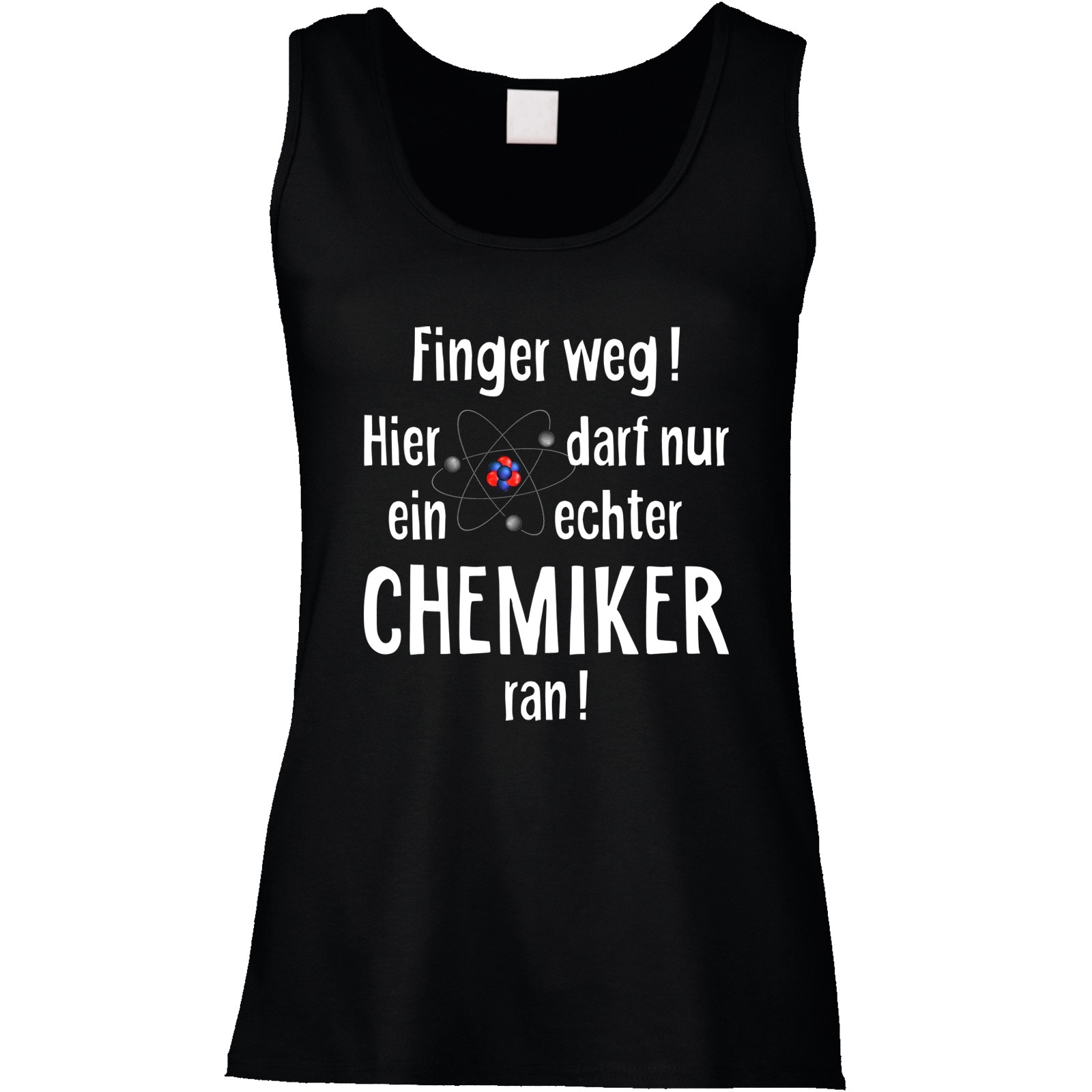 Funshirt oder Tanktop: Finger weg! (Chemiker)