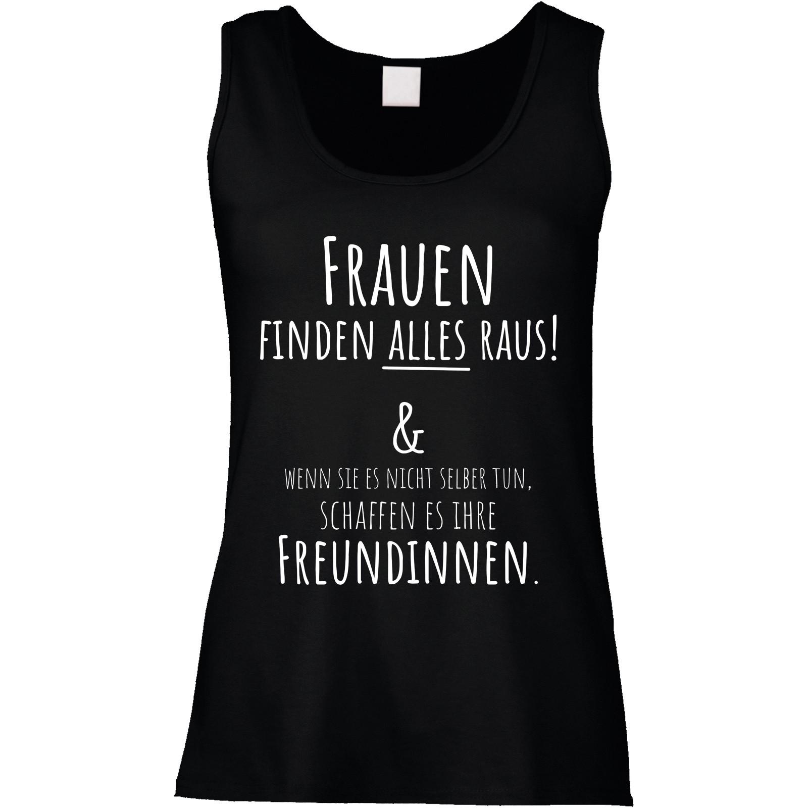 Funshirt oder Tanktop: Frauen finden ALLES raus!...