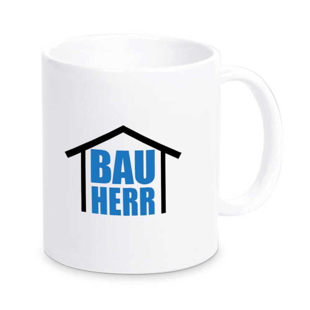 Tasse für den Bauherren