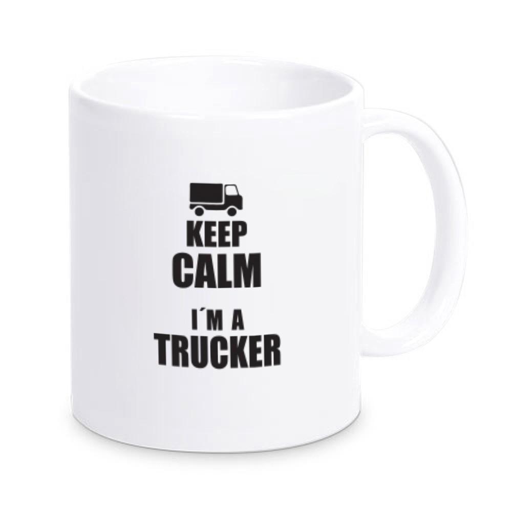 Tasse für Trucker
