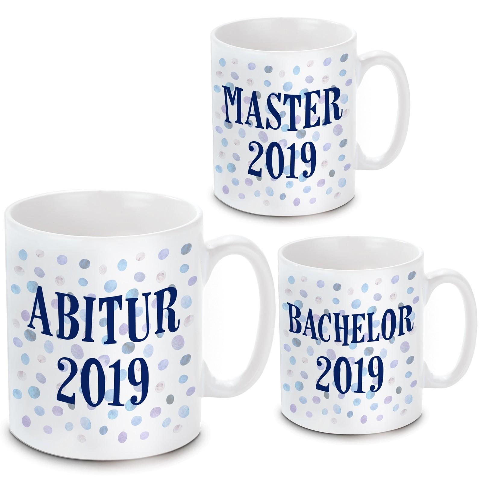 Tasse: Abitur - Bachelor - Master 2019