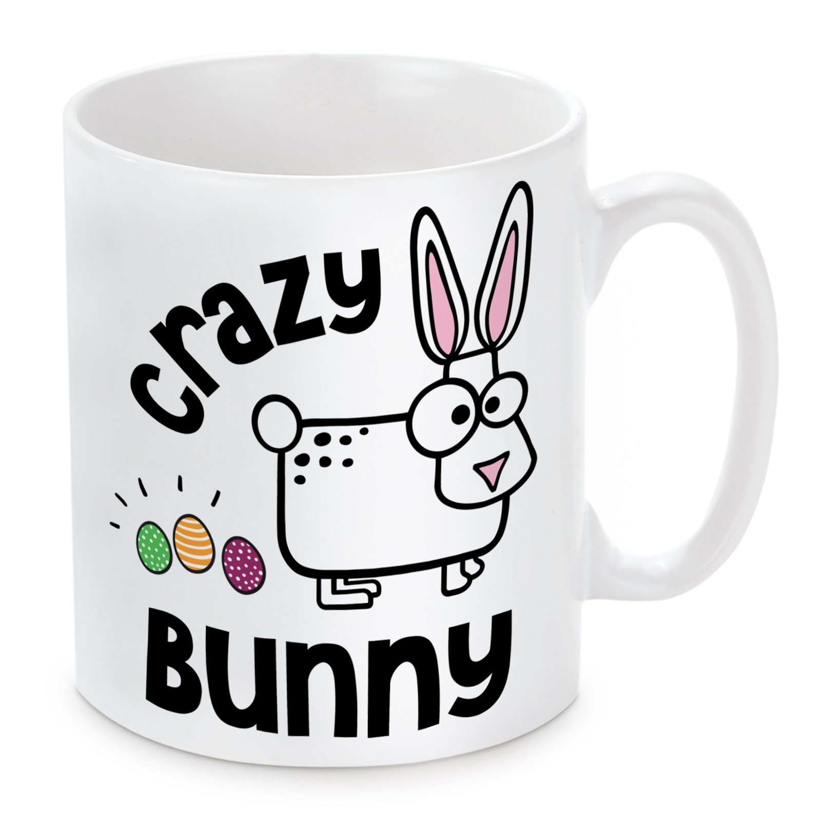 Tasse: Crazy Bunny
