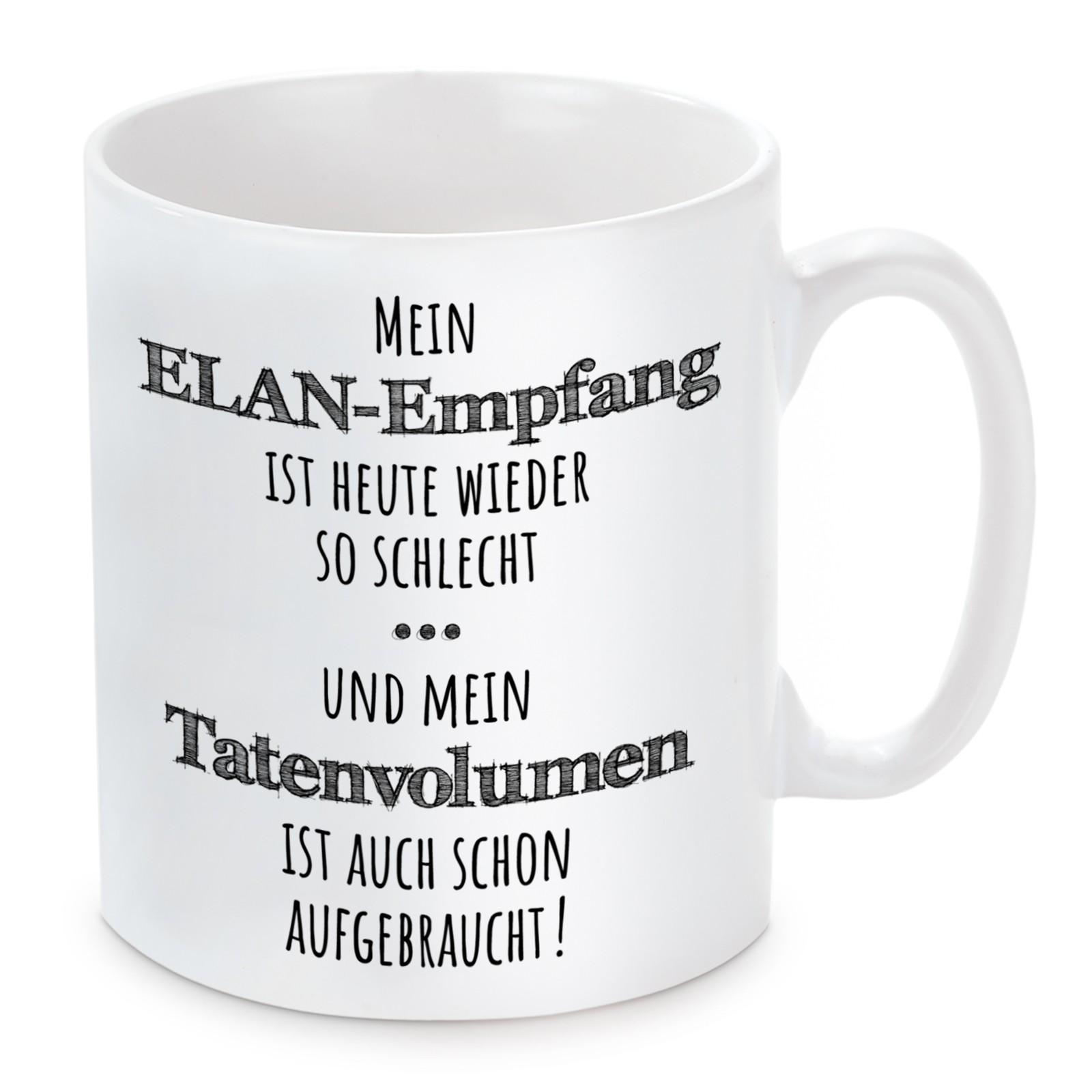 Tasse: ELAN-Empfang