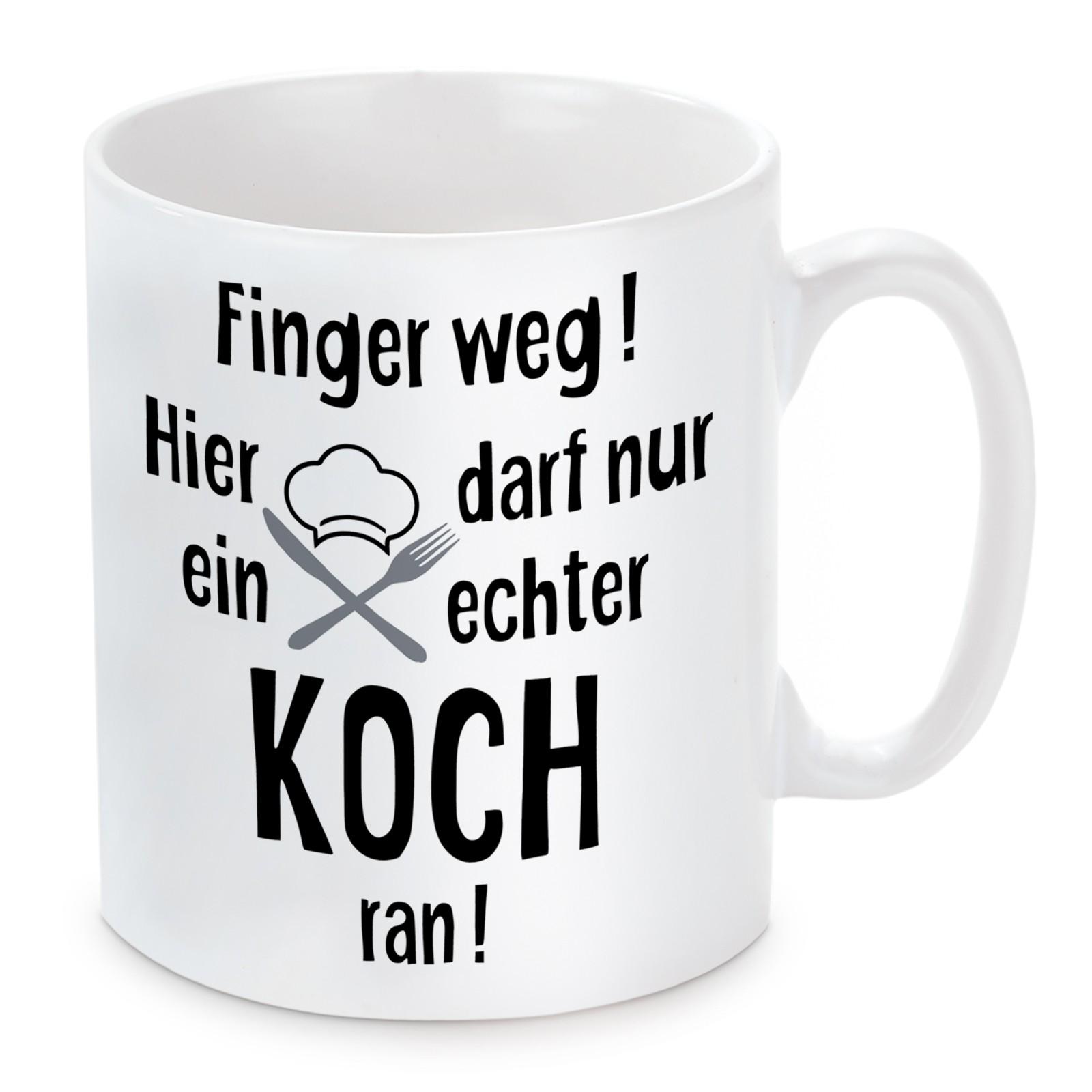 Tasse: Finger weg! (Koch)