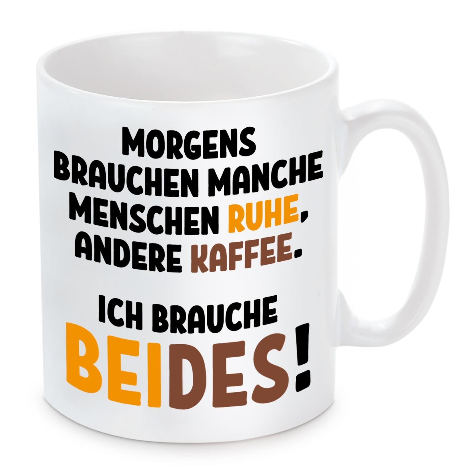 Tasse Modell: Morgens brauchen manchen Menschen ...