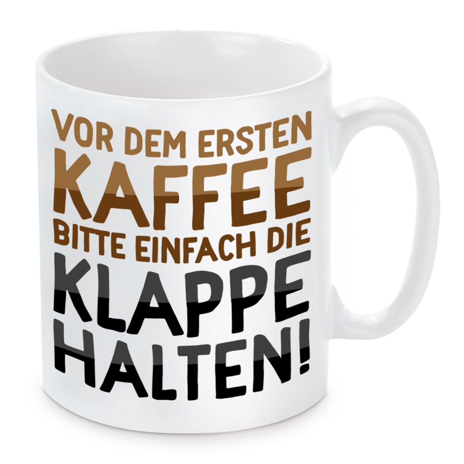 Tasse Modell: Vor dem ersten Kaffee bitte einfach ...