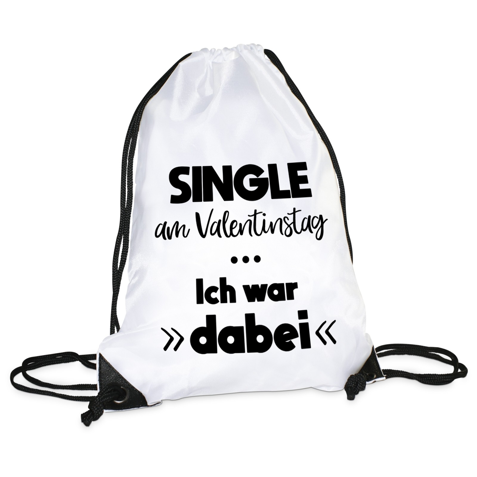 Turnbeutel Single Am Valentinstag