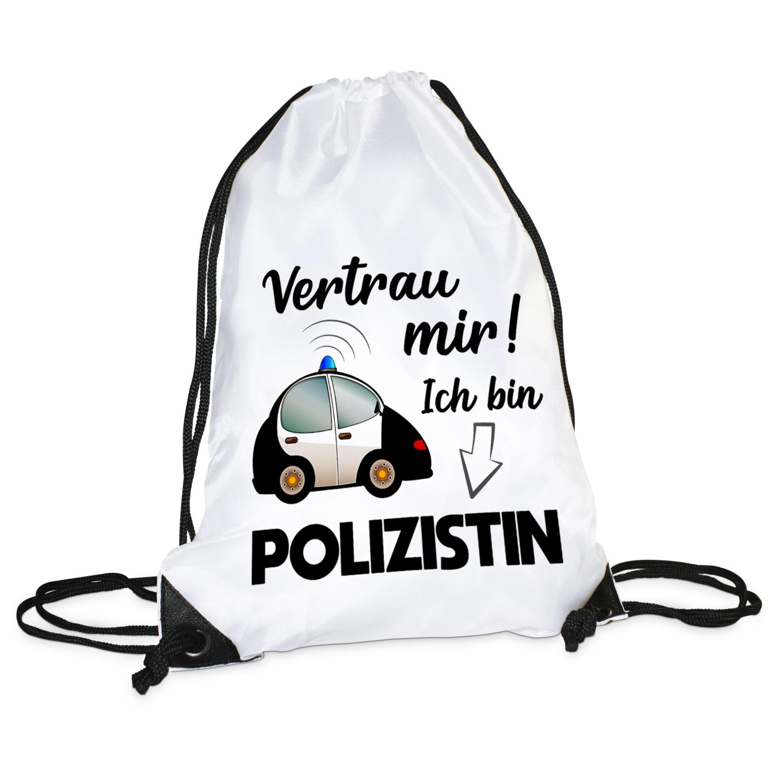 Turnbeutel: Vertrau mir, ich bin Polizistin