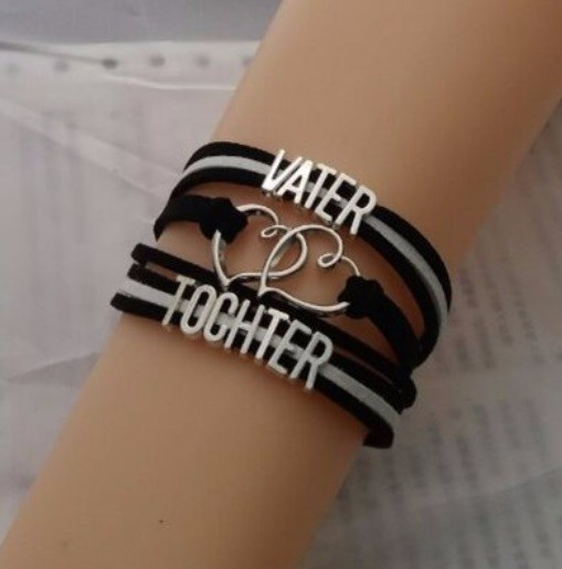 Armband - Vater / Tochter