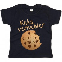 Kinder - Babyshirt Modell: Keksvernichter