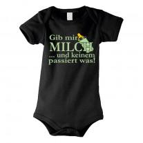 Kinder - Babybody Modell: Gib mir Milch