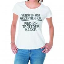 Damen T-Shirt Modell: Versteh ich