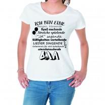 Damen T-Shirt Modell: Atemberaubende Oma