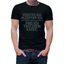 Herren T-Shirt Modell: Versteh ich