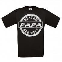 Herren T-Shirt Modell: Bester Papa der Welt