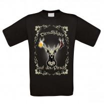 Herren T-Shirt Modell: Dirndljäger auf der Pirsch