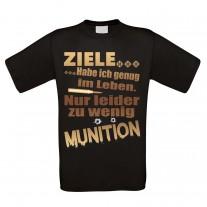 Herren T-Shirt Modell: Ziele habe ich genug