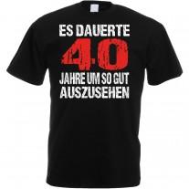 Herren T-Shirt Modell: Gut aussehen - Alter wählbar
