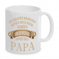 Tasse Modell: Die wichtigen nennen mich Papa