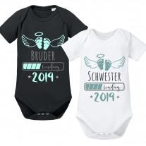 Babybody: 2019 Schwester / Bruder LOADING...