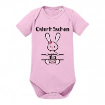 Babybody: Osterhäschen (Mädels, personalisierbar)