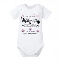 Babybody: Ich bin dein Hochzeitstagsgeschenk (Papa sagt...)