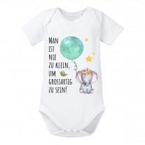 Babybody Modell: Man ist nie zu klein....(Mädchen)