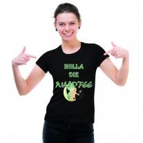 Damen T-Shirt Modell: Waldfee