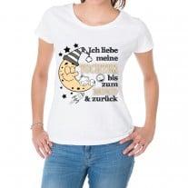 Damen T-Shirt Modell: Ich liebe meine Tochter