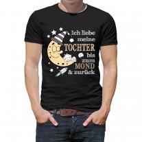 Herren T-Shirt Modell: Ich liebe meine Tochter