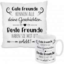 Kissen oder Tasse: Beste Freunde