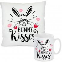 Kissen oder Tasse: Bunny kisses