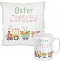 Kissen oder Tasse: Osterexpress