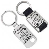 Metall Schlüsselanhänger - Der beste Teil meines Lebens